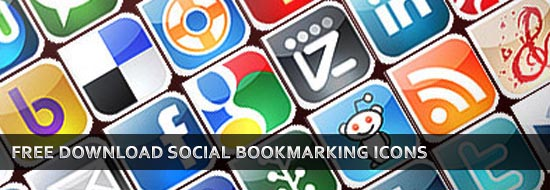 Free Download Social Bookmarking Icons – Best Social Media Icons