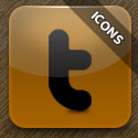 Post Thumbnail of Free Download Brown Social Icon Pack