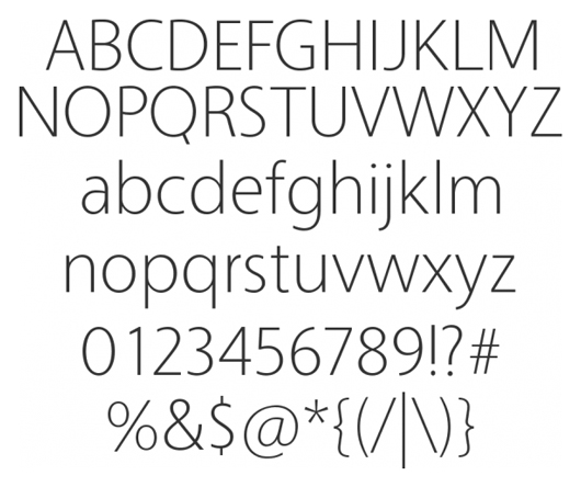 vegur - 70 Remarkable High Quality Free Fonts for Graphic Designers
