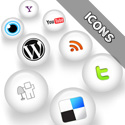 Post Thumbnail of WHITE MAGIK Social Media Icons Pack - Free Download