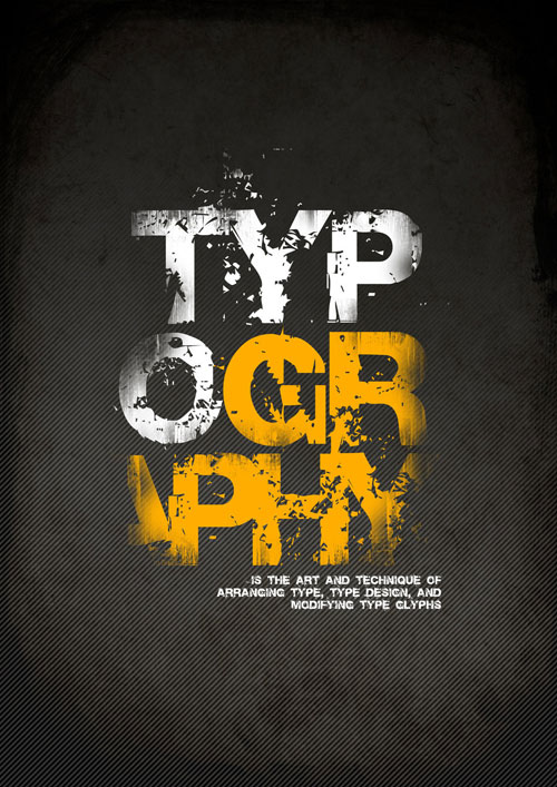 I love Ready For Print Typography Poster