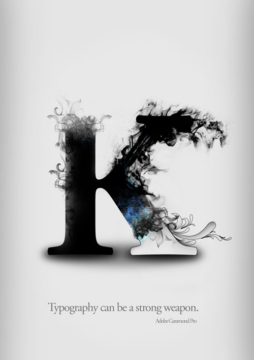 Special K For Ready Print Typography Poster