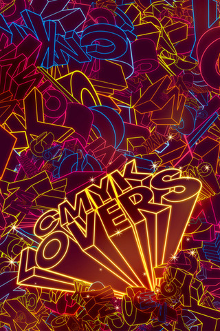 CMYK Lovers by Guilherme Marconi