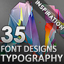 Post thumbnail of 35 Amazing Fonts Typography Designs for Design Inspiration