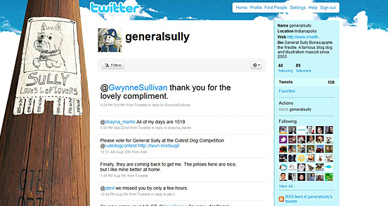 Twitter Backgrounds - 50+ professionally Creative Twitter Backgrounds
