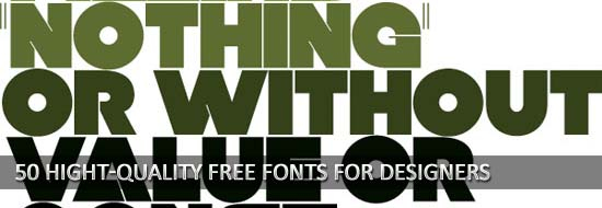 Hight Quality Free Fronts