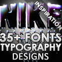 Post thumbnail of 35+ Beautiful Fonts Typography Designs For Inspiration