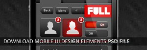 Mobile User Interface Elements