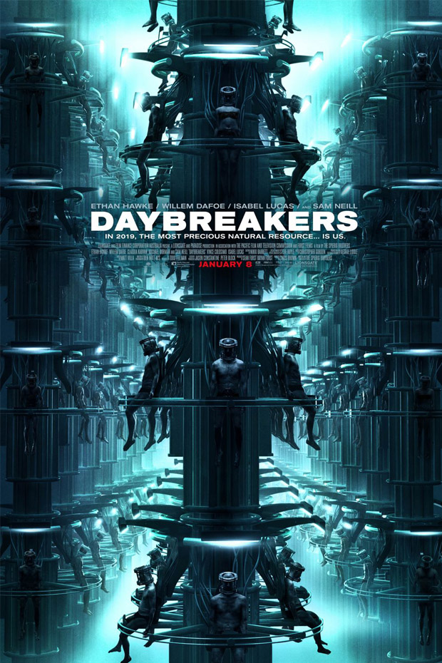 Daybreakers - 50+ Best Movie Posters of 2010 and 2011 - Movies Poster Showcase
