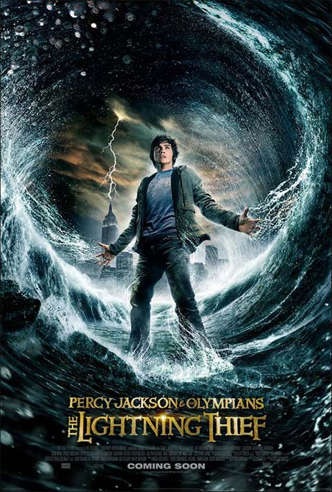 Percy Jackson & the Olympians: The Lightning Thief - 50+ Best Movie Posters of 2010 and 2011 - Movies Poster Showcase