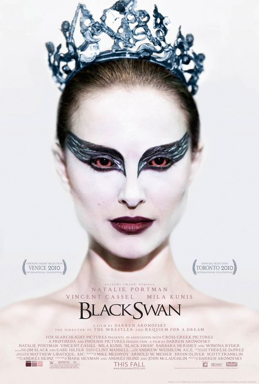 black_swan - 50+ Best Movie Posters of 2010 and 2011 - Movies Poster Showcase