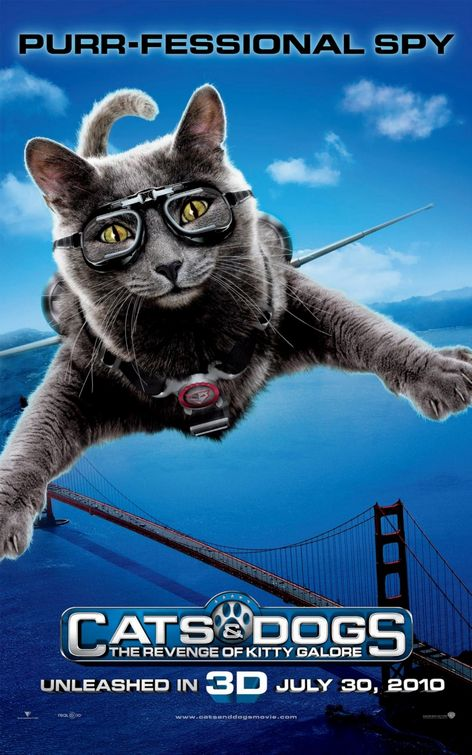 cats_and_dogs_the_revenge_of_kitty_galore - 50+ Best Movie Posters of 2010 and 2011 - Movies Poster Showcase