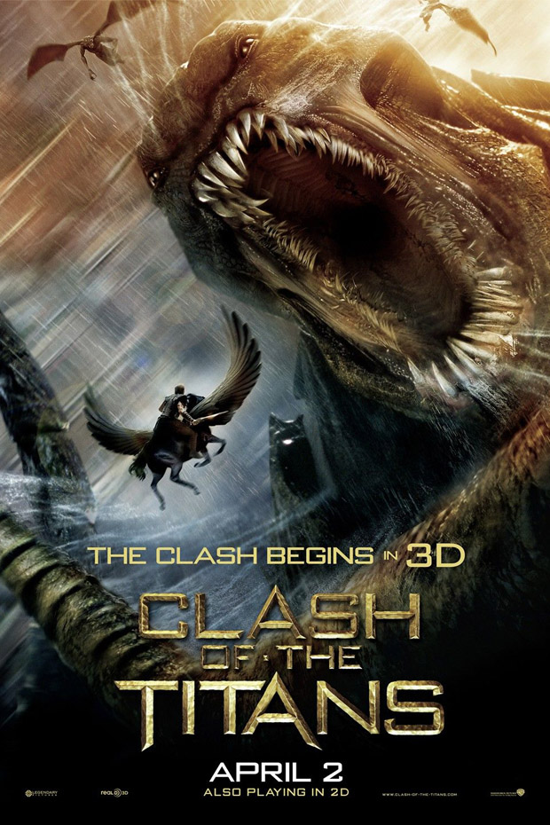 Clash Of the Titans - 50+ Best Movie Posters of 2010 and 2011 - Movies Poster Showcase