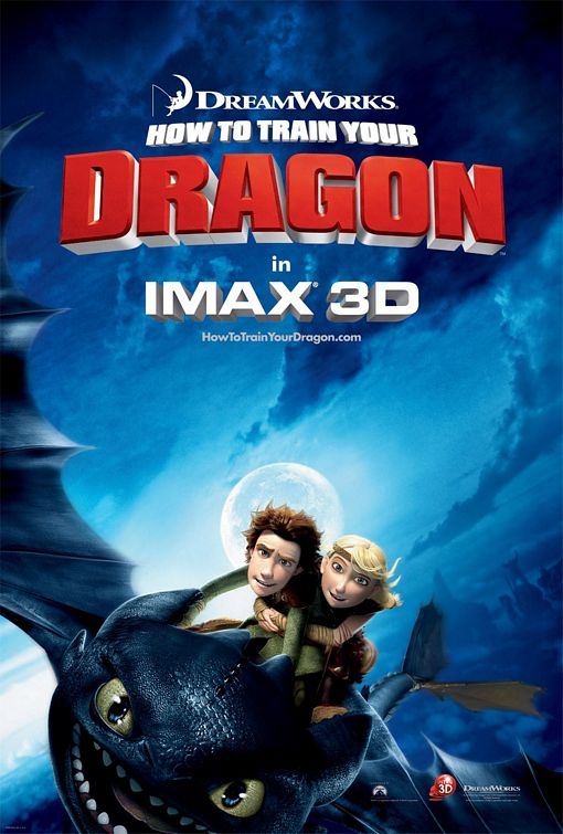 How to Train Your Dragon - 50+ Best Movie Posters of 2010 and 2011 - Movies Poster Showcase