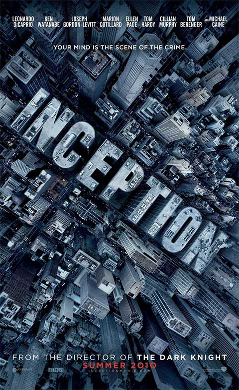 inception  - 50+ Best Movie Posters of 2010 and 2011 - Movies Poster Showcase