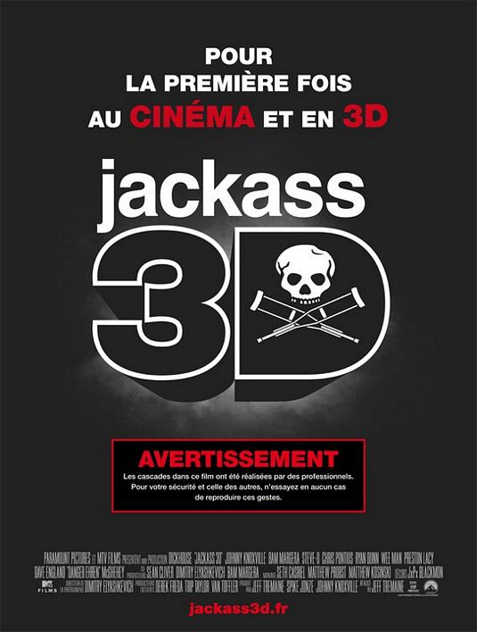 Jackass 3-D - 50+ Best Movie Posters of 2010 and 2011 - Movies Poster Showcase