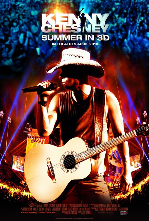 Kenny Chesney: Summer in 3D  50+ Best Movie Posters of 2010 and 2011 - Movies Poster Showcase