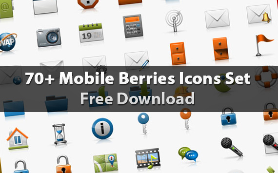 mobile-berries-icons-set-download