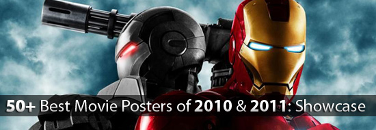 Post image of 50+ Best Movie Posters of 2010 and 2011 – Movies Poster Showcase