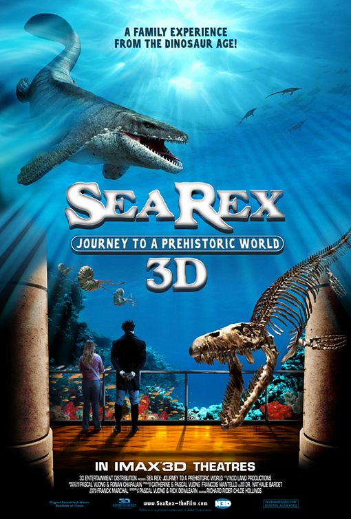 Sea Rex 3D: Journey to a Prehistoric World - 50+ Best Movie Posters of 2010 and 2011 - Movies Poster Showcase
