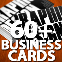 Post thumbnail of Creative Business Cards: 60+ Really Creative Business Card Designs