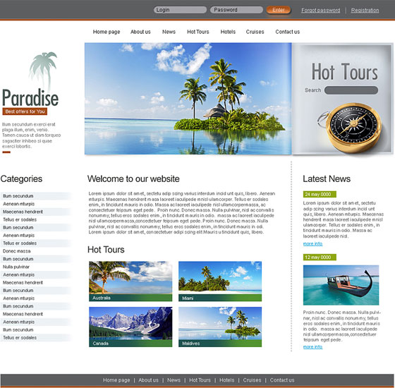 70+ Free XHTML/CSS Templates - Download Now