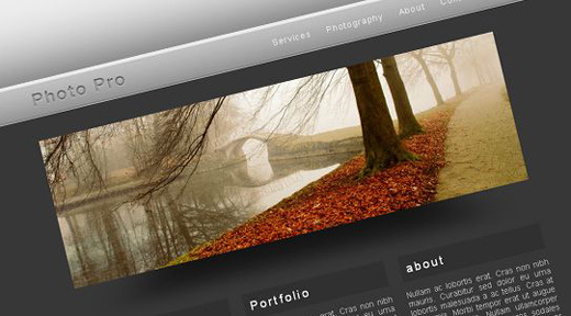 Csstemplates65 in 70+ Free XHTML/CSS Templates - Download Now