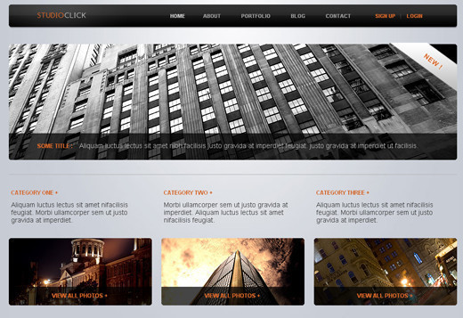 Csstemplates7 in 70+ Free XHTML/CSS Templates - Download Now