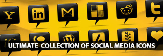 Social Media Icons: Ultimate Huge Collection of Social Media Icons