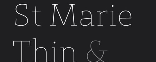 St Marie Free Font