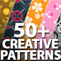 Post Thumbnail of Background Pattern Designs: 50+ Creative Pattern Designs