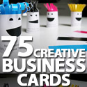 Post thumbnail of 75 Creative Business Cards Designs