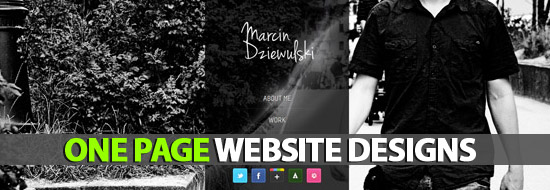 Post image of Single Page Websites (One Page Website) Designs For Inspiration