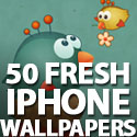 Post Thumbnail of iPhone Wallpapers: 50 Fresh iPhone Wallpapers