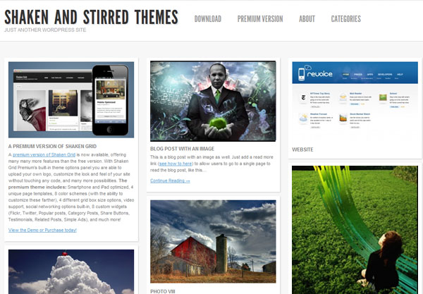 Fresh WordPress Themes