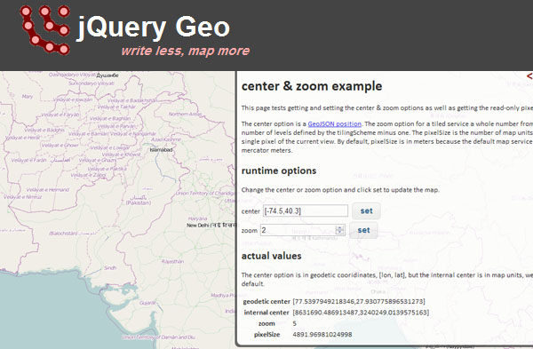 jquery-geo-mapping