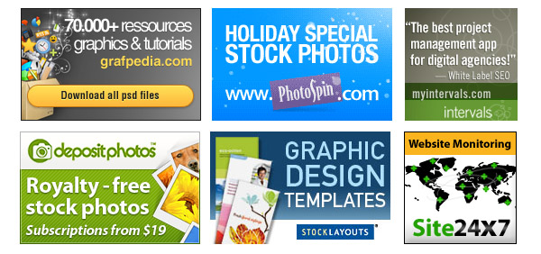Sample Banners