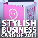 Post Thumbnail of 45 Stylish Business Card Designs Of 2011