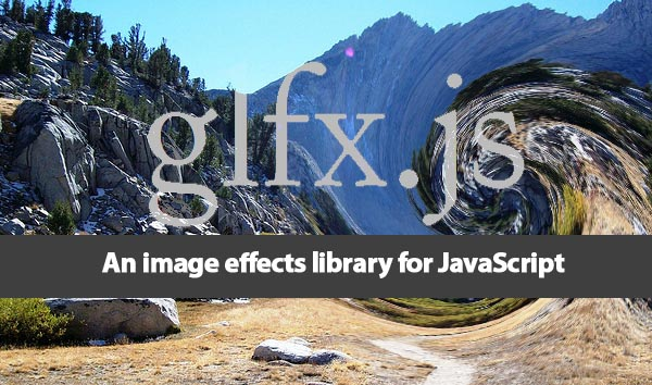 Create Real-Time Effects To Image glfx js