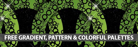Free Gradient, Pattern & Colorful Palettes