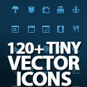 Post thumbnail of 120+ Tiny Vector Pixel-Perfect Icons Set