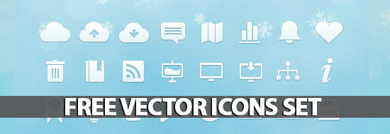 Free Vector Icons Set – 91 Icons