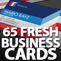 Post Thumbnail of Business Card: 65 Fresh Business Cards