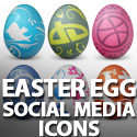 Post thumbnail of 25 Easter Egg Social Media Icons