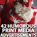 Post Thumbnail of 42 Humorous Print Media Advertisements