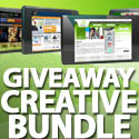 Post Thumbnail of Giveaway: Win Creative Bundle 12 Exclusive Web Templates & 25 Logo Templates From AlMubdi