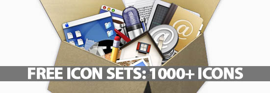 Free Icon Sets: 1000+ Vector, Social, PSD, UI Icons