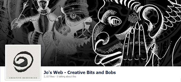 Jos Web - Creative Bits and Bobs Facebook Timeline Cover