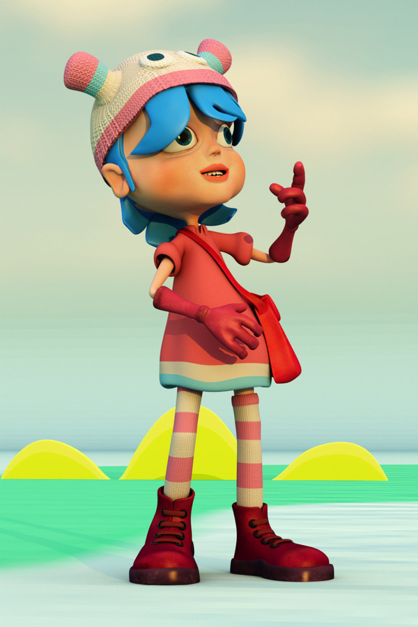 100 Awesome 3D Cartoon Characters and 3D illustration