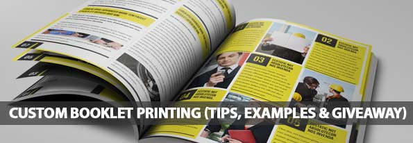 Custom Booklet Printing (Tips, Examples & Giveaway)